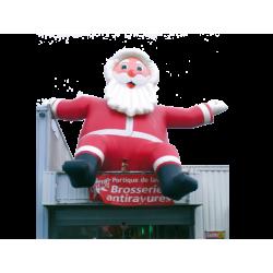 Père Noël assis 6 m
