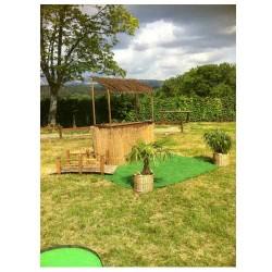 Mini golf accueil