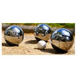 Triplette de boules Pétanque