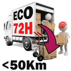 Livraison -50km - ECO 72H