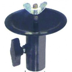 Supports coupelle embrase pied