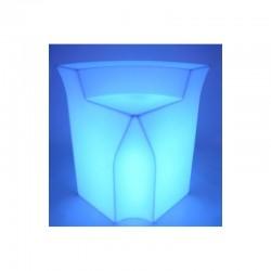 Comptoir lumineux module angle