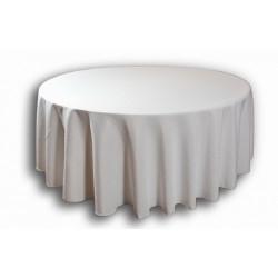 Nappe pour table ronde